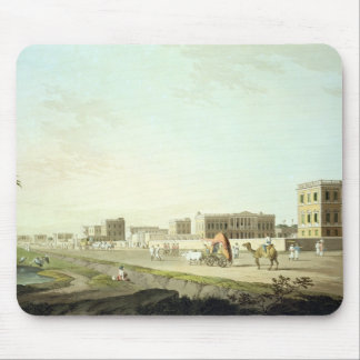 Port of Cheringhee, Calcutta, plate 32 from 'Orien Mouse Mat