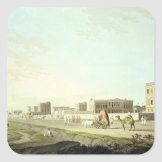 Port of Cheringhee, Calcutta, plate 32 from 'Orien Square Sticker