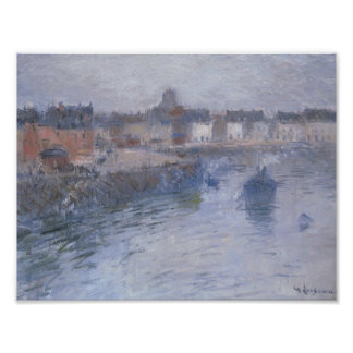 Port of Dieppe by Gustave Loiseau Posters