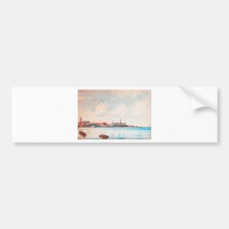 Port of Elsinore by Ioannis Altamouras Bumper Sticker