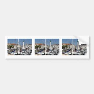 Port of La Rochelle in France Bumper Sticker