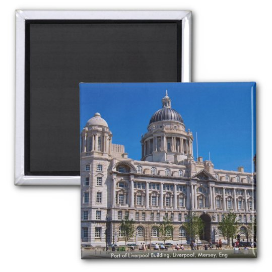 Port of Liverpool Building, Liverpool, Mersey, Eng Square