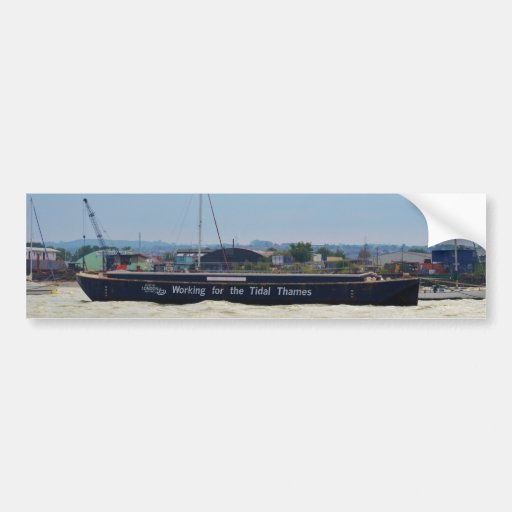 Port Of London Barge Bumper Stickers