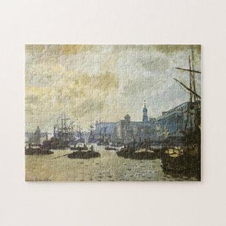 Port of London Monet Fine Art Jigsaw Puzzle
