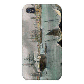 Port of New Orleans, engraved by D.G. Thompson iPhone 4/4S Cover