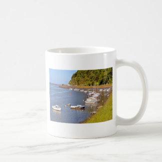 Port of Saint-Brieuc in France Coffee Mug