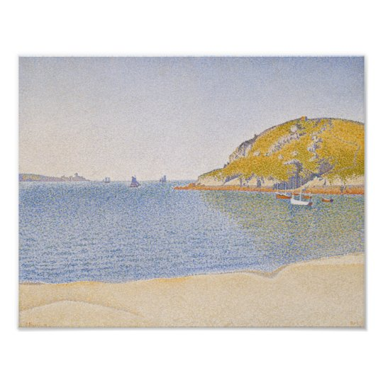 Port of Saint-Cast by Paul Signac Poster