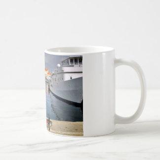 Port of Saint-Tropez in France Basic White Mug