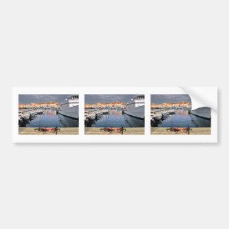Port of Saint-Tropez in France Bumper Sticker