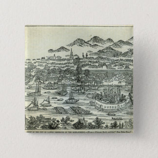 Port of the City of Canton 15 Cm Square Badge