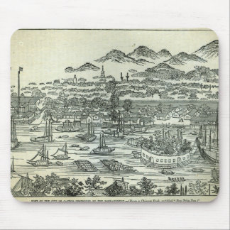 Port of the City of Canton Mouse Mat