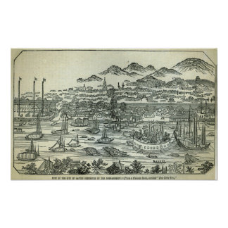Port of the City of Canton Poster