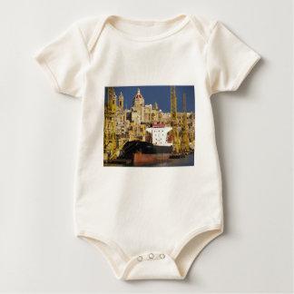 Port of Valletta. Baby Bodysuit