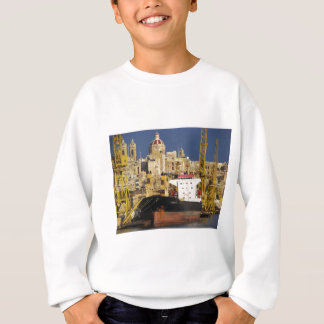 Port of Valletta. Sweatshirt
