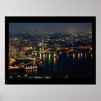 Port of Yokohama Poster