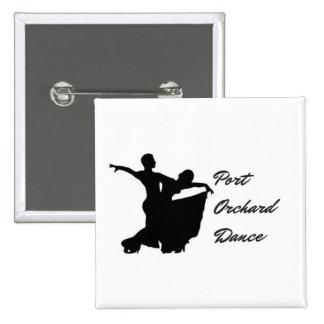 Port Orchard Dance Square Button