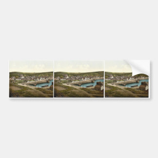 Port Patrick from the southwest, Scotland classic Bumper Stickers