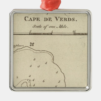 Port Praya, Cape de Verds Christmas Ornament
