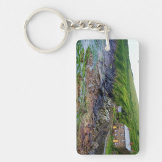 Port Quin Cornwall England Poldark Location Key Ring