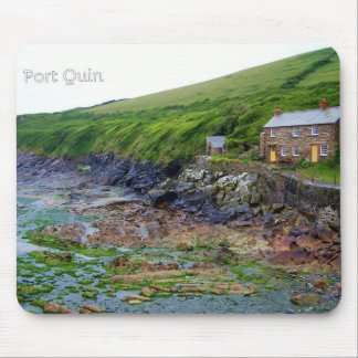 Port Quin Cornwall England Poldark Location Mouse Mat
