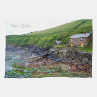 Port Quin Cornwall England Poldark Location Tea Towel