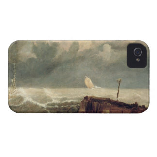 Port Ruysdael (oil on canvas) iPhone 4 Cases