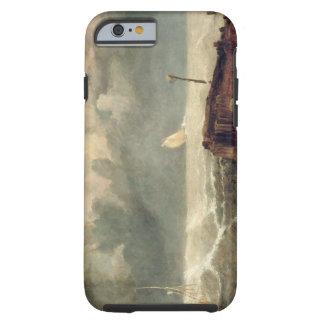 Port Ruysdael (oil on canvas) Tough iPhone 6 Case