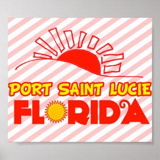 Port Saint Lucie Florida Poster