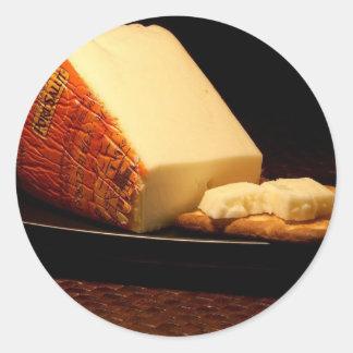 Port Salut Cheese Classic Round Sticker