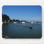 Port Stanley Harbour Scenic Mousepad