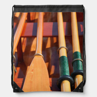 Port Townsend, Wooden Boat Festival Drawstring Bag