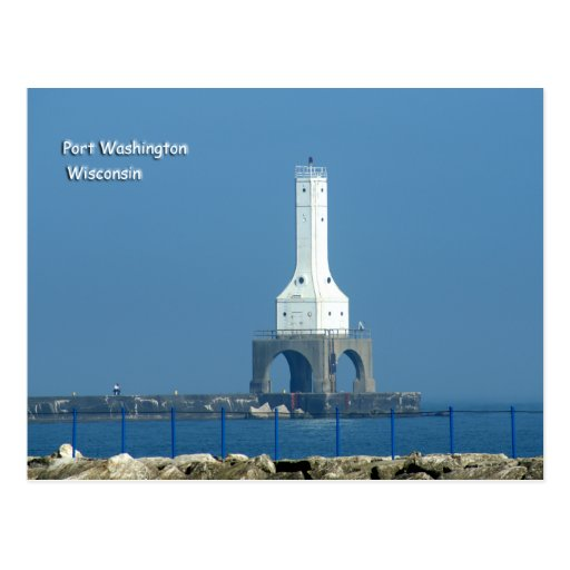 Port Washington Lighthouse Post Card