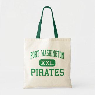 Port Washington - Pirates - High - Port Washington Budget Tote Bag