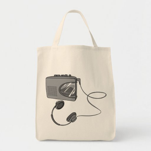 Portable Cassette Tape Player Canvas Bags