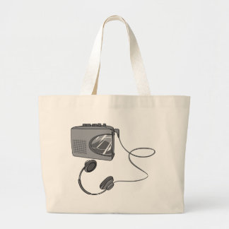 Portable Cassette Tape Player Canvas Bags