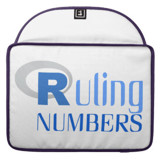 Portable cover for of Ruling numbers Sleeves For MacBooks
