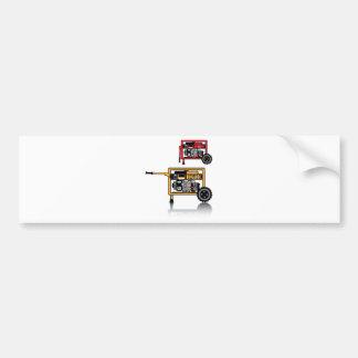 Portable Generator vector Bumper Sticker