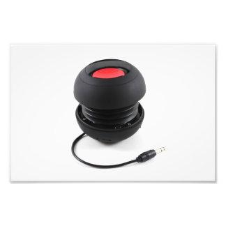 Portable Music Speaker Photo Art
