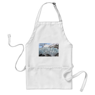 Portage Glacier, Alaska, USA (caption) Standard Apron