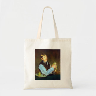 Portait of Leon Leenhoff by Edouard Manet Budget Tote Bag