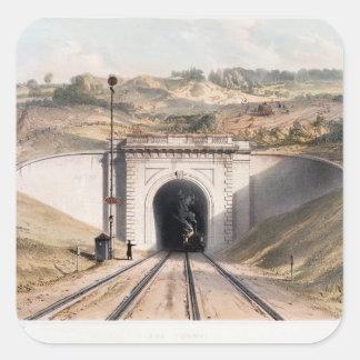 Portal of Brunel's box tunnel near Bath Square Sticker