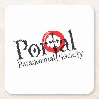 Portal Paranormal Society Coasters Square Paper Coaster
