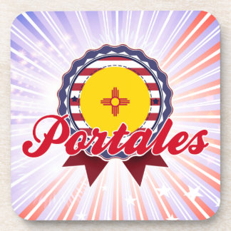 Portales, NM Beverage Coaster