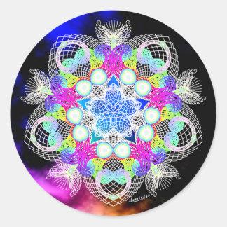 Portaling Round Sticker