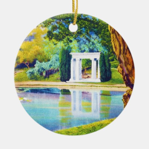 """Portals of the Past"" Golden Gate Park Christmas Ornament"