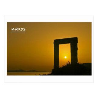 Portara, Temple of Apollo - Naxos postcard