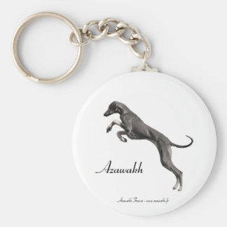 PORTE-CLÉ leaping Azawakh Key Ring