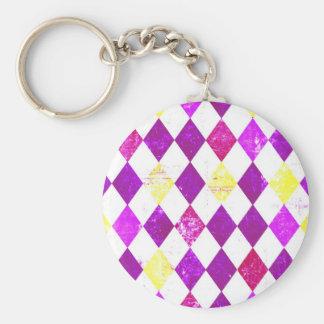 Porte-clés carreaux kitsch n°1