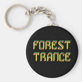 Porte-clés psychédélique Forest Trance