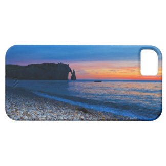 Porte d'Aval at sunset cases for IPhone 5 iPhone 5 Covers